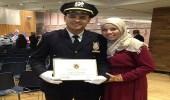 بالصور.. أول مسؤول شرطة مسلم يحضر دروس أكاديمية FBI الأمريكية