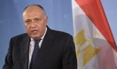 وزير خارجية مصر: قطر تواصل دعم الإرهاب والتدخل في شؤون الدول