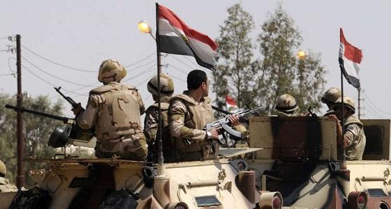 استشهاد 4 عسكريين مصريين في سيناء