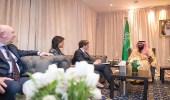 ولي العهد ومندوبي الدول الأعضاء بمجلس الأمن يبحثون أزمة اليمن