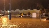 بالفيديو.. الأمطار تتسبب في إصابة 12 شخصا بينهم نساء بالخرج