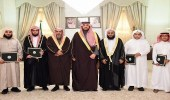 أمير الشمالية يكرم الفائزين بجائزة الملك سلمان لحفظ القرآن
