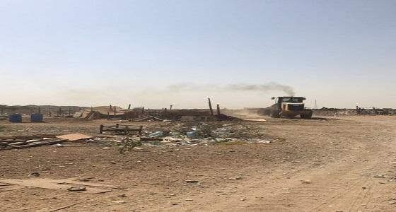 إزالة 311 حظيرة أغنام مخالفة في جدة