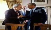 """صورة ترصد توبيخ الأمير سعود الفيصل لـ """" أوباما """" بسبب مصر"""