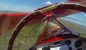 بالفيديو.. ذكاء طيار ينقذه بعد توقف محرك طائرته في الهواء