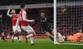 مانشستر سيتي يفوز على أرسنال بثلاثية في قمة الدوري الإنجليزي