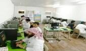 بالصور.. تنمية الحريضة تنفذ برامج ودورات تدريبية بالمركز الاجتماعي بالمجمعة