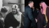 بالفيديو.. ولي العهد يسير على خطى المؤسس والمشهد يتكرر بعد 73 عاما