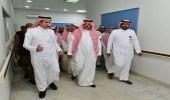 تفاصيل.. زيارة الأمير عبدالعزيز بن سعد لمستشفى حائل