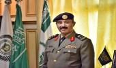 """"""" العمري """" يتلقى التهاني من مديري الدوائر الحكومية وأبناء عسير بعد ترقيته"""