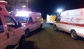 إصابة 10 أشخاص إثر انقلاب سيارتهم بمجاردة عسير