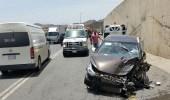6 إصابات من عائلة واحدة في حادث مروع بعسير