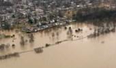 الفيضانات تغمر الأراضي الزراعية والمراعي في ألبانيا