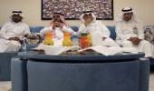 الجابري يزور تعليم ألمع ويرعى إجتماع مجلس القيادة التربوية