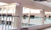 بالصور.. تعليم الشرقية يباشر سقوط جزء من سقف مدرسة