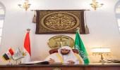 رئيس ديوان المظالم يزور مجلس الدولة وهيئة القضايا بمصر