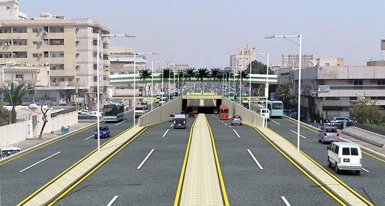 قبيل افتتاحه..أهم مزايا مشروع جسر تقاطع طريق مكة القديم مع الأمير ماجد