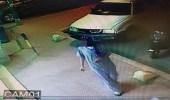 كاميرات المراقبة توثق سرقة لص خزينة متجر بعفيف مستغلاً وقت الصلاة