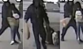 بالفيديو.. رجل يعتدي على سيدتين بلا مبرر والشرطة تبحث عنه