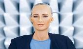 """بالفيديو.. رسالة مفاجئة من الروبوت """" صوفيا """" لمصر"""