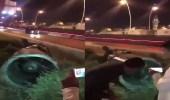 بالفيديو.. خفة دم المصريين تصل إلى الصاروخ الذي استهدف الرياض