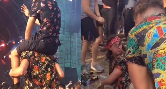 بالفيديو.. نهاية مروعة لشباب يرقصون بطريقة غريبة