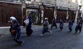 بالصور.. فتيات تركضن في شوارع جدة احتفالا باليوم العالمي للمرأة