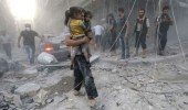 وصول قافلة المساعدات الإنسانية إلى دوما بعد مقتل 20 مواطنا في القصف