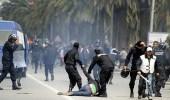 اشتباكات بين الشرطة التونسية والمحتجين في الشوارع