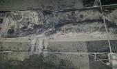 بالفيديو والصور.. مسلحون يشعلون النيران بمؤسسة صحفية في عدن
