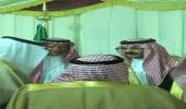 بالصور.. الشيخ ناصر بن شلاش يهنئ نائب أمير عسير على الثقة الملكية