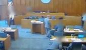بالفيديو.. إطلاق النار على متهم داخل محكمة أمريكية
