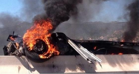 بالصور.. مصرع 6 أشخاص حرقًا في حادث بالمغرب