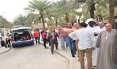 بالصور.. حشود أمام سفارة مصر بالرياض للمشاركة في الانتخابات الرئاسية