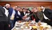 صابر الرباعي يحتفل بعيد ميلاده وسط أصدقائه بالقاهرة