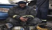 بالصور.. إصابة امرأتين باختناق في حريق منزل بجدة