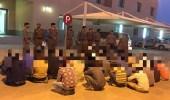 شرطة الجوف تقبض على عدد من مخالفي أنظمة الإقامة والعمل
