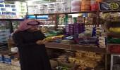 بالصور.. ضبط مواد منتهية الصلاحية بمحلات ومطاعم العويقيلة