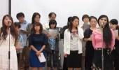 """بالفيديو.. يابانيون يحتفلون بدراسة اللغة العربية بأغنية """" ياحضرة العمدة """""""