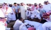 بالصور.. تشيع جثمان لاعب المنتخب سعود جاسم