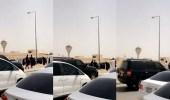 بالفيديو.. دهس طالبة بجامعة الإمام أثناء عبورها