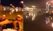 مدني سكاكا يباشر عددا من البلاغات عقب هطول الأمطار