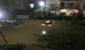 بالفيديو.. السيول والثلوج تغطي الشوارع في مصر