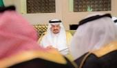 أمير الرياض يلتقي قيادات قطاع خدمات توزيع المياه ويطلع على المشاريع الجاري تنفيذها