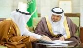 بالصور.. نائب أمير الرياض يستقبل محافظ المؤسسة العامة للتدريب التقني والمهني