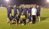 محافظ التدريب التقني يرعى المباراة الختامية لبطولة المؤسسة في كرة القدم