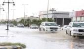 بالصور.. أمطار على محافظة بيشة ومراكزها