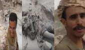 بالفيديو.. من على جثث الحوثيين جندي يمني يهدي شكره للملك سلمان
