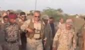 بالفيديو.. قائد القوات المشتركة يتفقد ميدي اليمنية بعد تحريرها