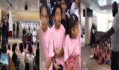 بالفيديو.. نجوم المصارعة يلتقون بأطفال أيتام في جدة